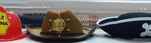 Sklep włókienniczy czapka kapelusz kask strażaka korona króla na bal maskowy