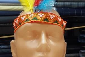 Sklep włókienniczy manekin opaska na głowę