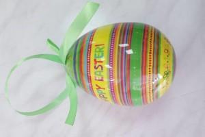 Sklep włókienniczy jajeczko do zawieszenia