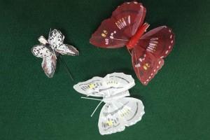 Sklep włókienniczy dodatki krawieckie motylki