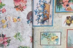 Sklep włókienniczy tkanina w obrazki obrazy