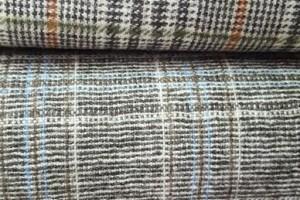 Sklep włókienniczy materiał w krateczkę