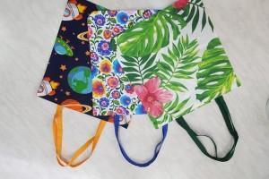 Sklep włókienniczy torby z materiału