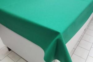 Sklep włókienniczy materiał zielony