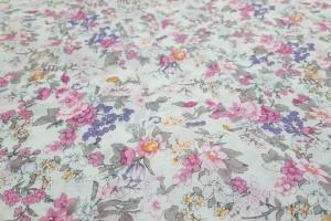 Sklep włókienniczy tkanina kolorowa w kwiaty