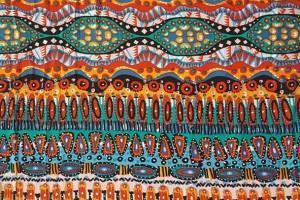 Sklep włókienniczy kolorowa tkanina