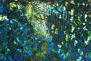 Sklep włókienniczy materiał świecący