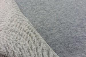 Sklep włókienniczy tkanina szaro-biała