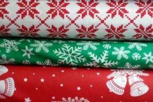 Sklep włókienniczy tkaniny różne wzory