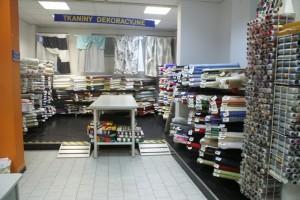 Sklep włókienniczy tkaniny dekoracyjne