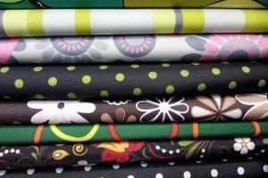 Sklep włókienniczy tkanina różne  wzorki kwiaty