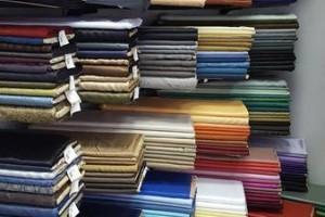Sklep włókienniczy materiał różne kolory Mokotów