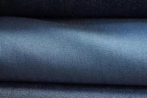 Sklep włókienniczy tkanina ciemna granatowa