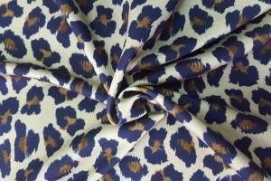 Sklep włókienniczy materiał mazgaje żółto niebieskie